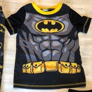 Batman Pajamas - 🐛Boys 4T Batman Superhero Pajamas 3 Piece set 🦇 0d1332222